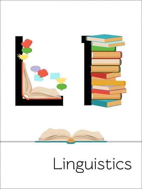Karta flash litera l przeznaczona jest dla lingwistyki. alfabet naukowy dla dzieci. Premium Wektorów
