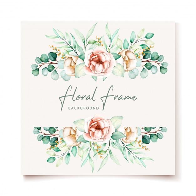 Karta Kwiatowy Zaproszenie Na ślub Darmowych Wektorów