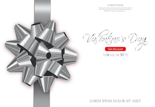 Karta srebrnego łuku Premium Wektorów