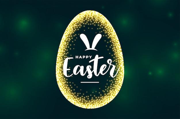 Karta Uroczystości Na Obchody Wielkanocy Darmowych Wektorów