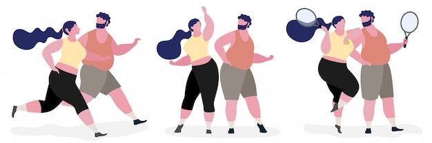 Kilka tłuszczu charakter ilustracja Premium Wektorów
