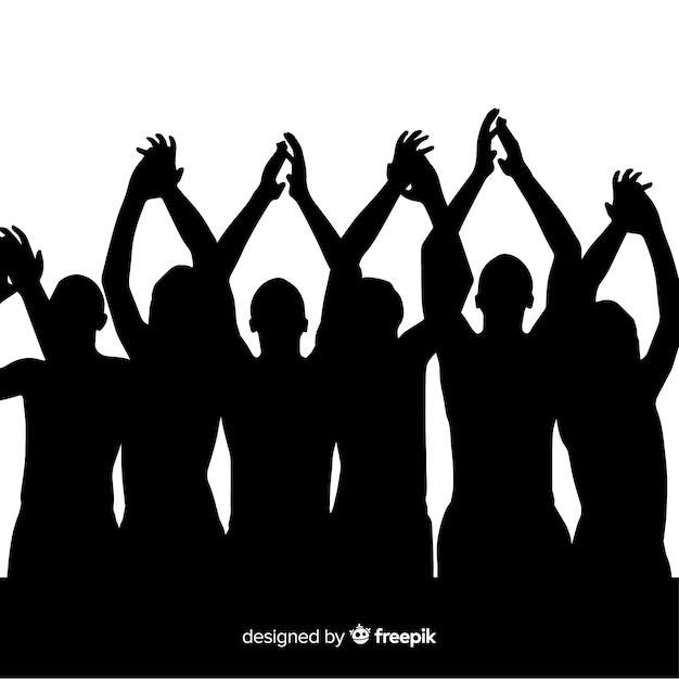Klaskanie rąk Darmowych Wektorów