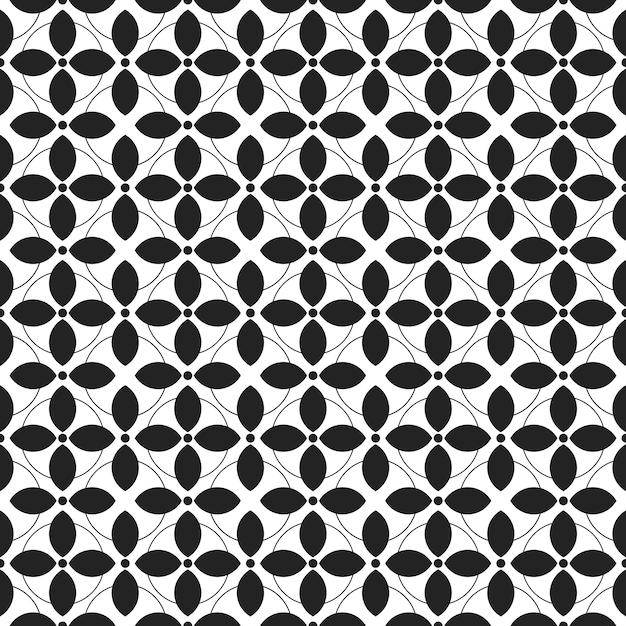Klasyczny Batik Tło Wzór. Luksusowa Tapeta Mandali. Elegancki Tradycyjny Motyw Kwiatowy Premium Wektorów