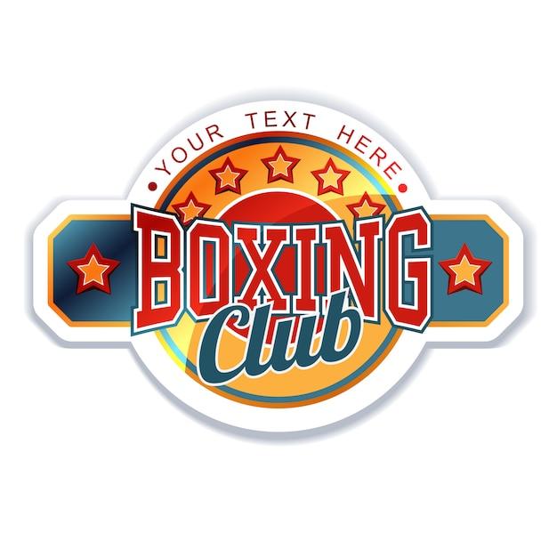 Klub bokserski Premium Wektorów