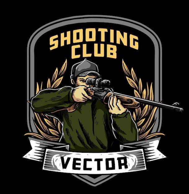 Klub Strzelecki Premium Wektorów