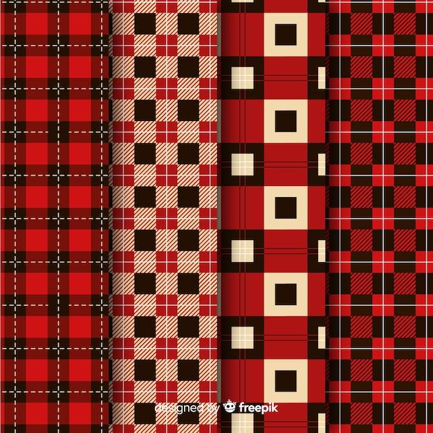Kolekcja czerwonych bawołów Darmowych Wektorów