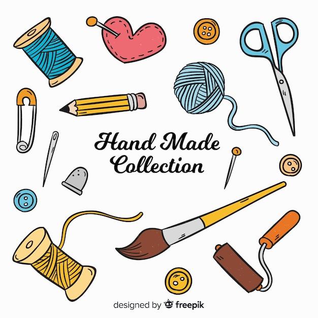 Kolekcja Elementów Craft Darmowych Wektorów