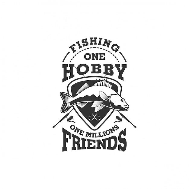 Kolekcja Logo Firmy Rybackiej Premium Wektorów