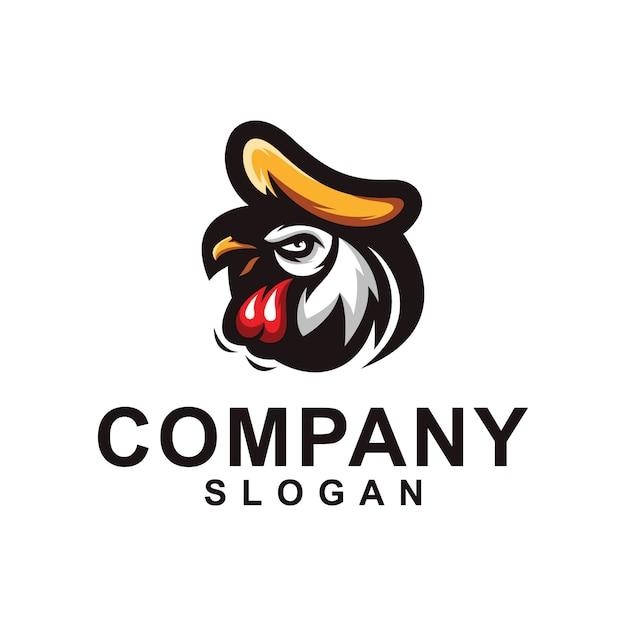 Kolekcja Logo Kurczaka Premium Wektorów