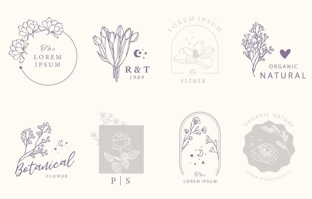 Kolekcja Wzorów Okultystycznych Beauty Z Geometrycznym Premium Wektorów