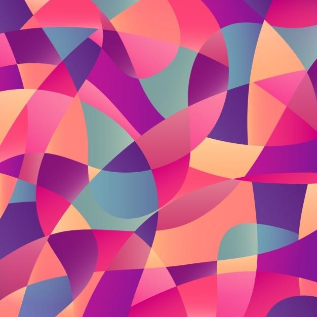 Kolorowe Abstrakcyjne Tła Darmowych Wektorów