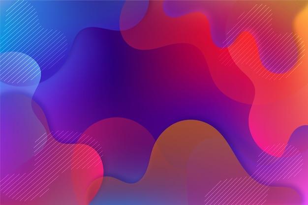 Kolorowe Abstrakcyjne Tło Darmowych Wektorów