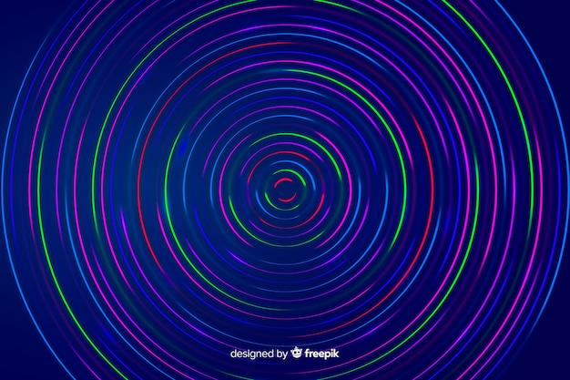 Kolorowe Geometryczne Linie Abstrakcyjne Tło Darmowych Wektorów