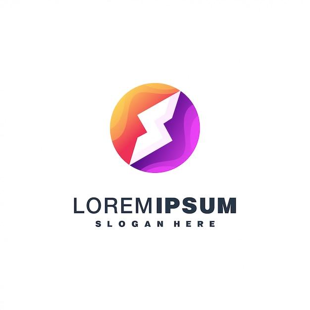 Kolorowe Logo Litery S. Premium Wektorów