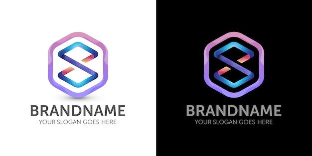 Kolorowe Logo Nieskończoności Premium Wektorów