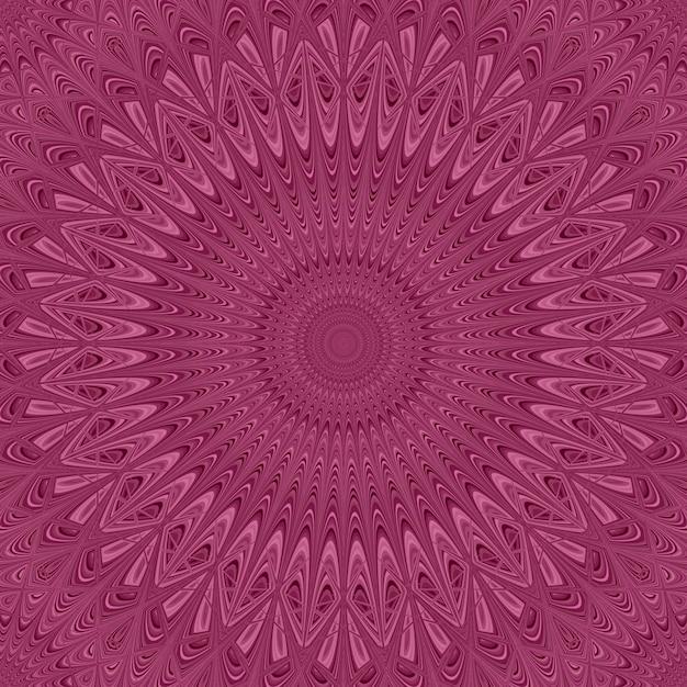Kolorowe Mandali Star Ozdoba Tle - Wektor Okrągły Deseń Grafiki Darmowych Wektorów