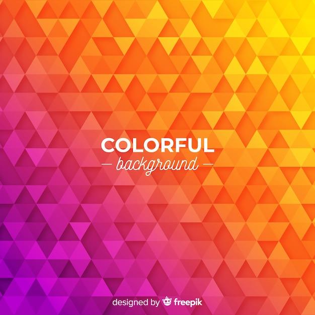 Kolorowe tło Darmowych Wektorów