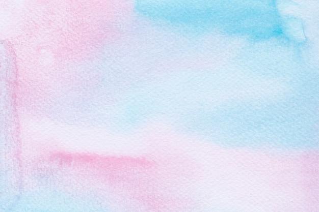 Kolorowe Tło Akwarela Jednorożca. Tęcza Tło Premium Wektorów