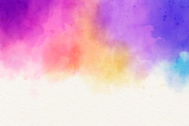Kolorowe Tło Akwarela Darmowych Wektorów