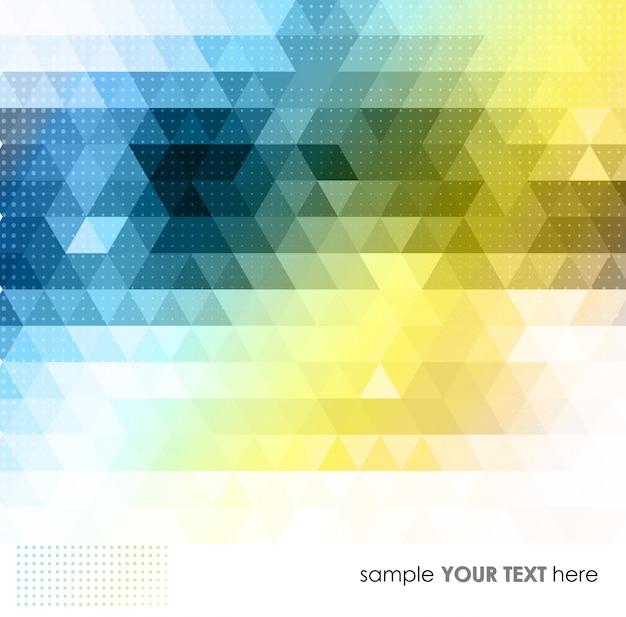 Kolorowe Tło Geometryczne Premium Wektorów