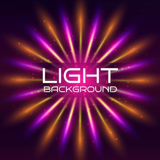 Kolorowe tło światła Darmowych Wektorów