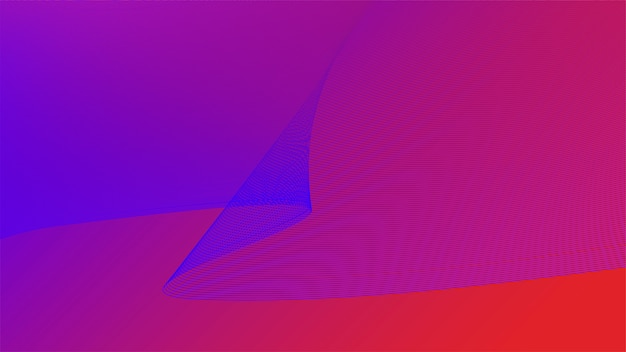 Kolorowe żywe grafiki 3d fali Darmowych Wektorów