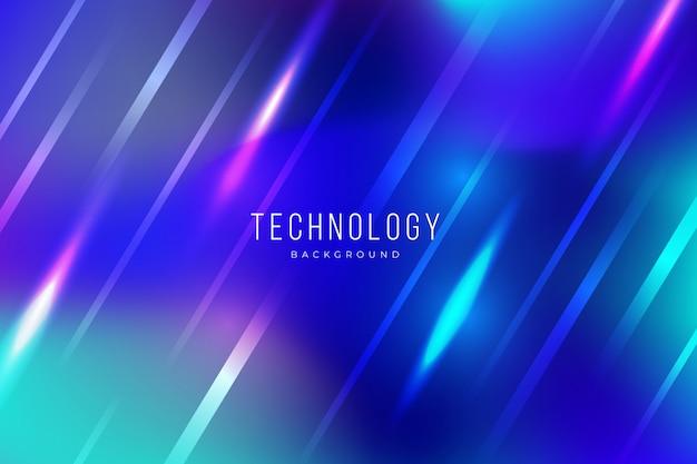 Kolorowy Abstrakcjonistyczny Technologii Tło Z Lekkimi Skutkami Darmowych Wektorów
