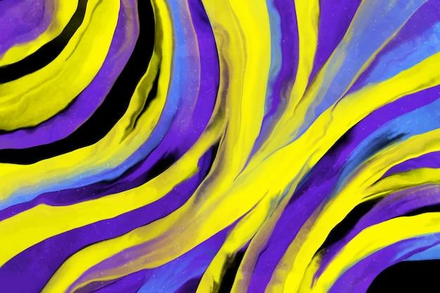 Kolorowy Akryl Malowane Tła Darmowych Wektorów