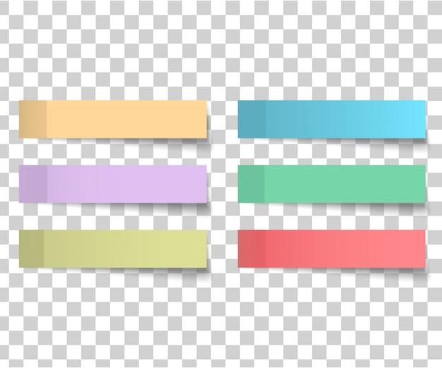 Kolorowy I Biały Kwadrat Naklejki Premium Wektorów