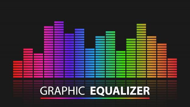 Kolorowy Korektor Graficzny Streszczenie Premium Wektorów