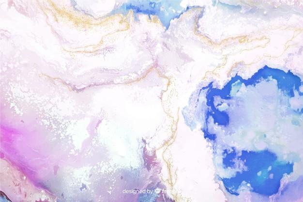 Kolorowy marmurowy farby tekstury tło Darmowych Wektorów