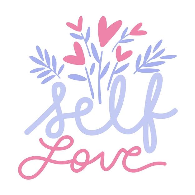 Kolorowy Napis Love Love Darmowych Wektorów