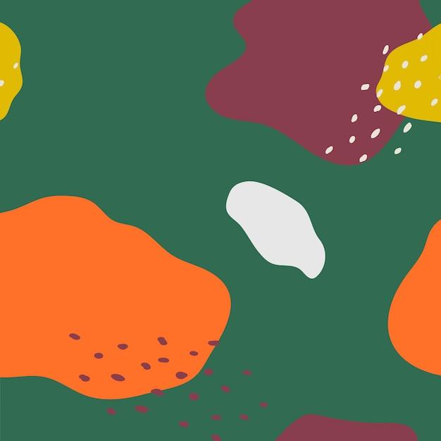 Kolorowy wzór wektor wzór Memphis Darmowych Wektorów