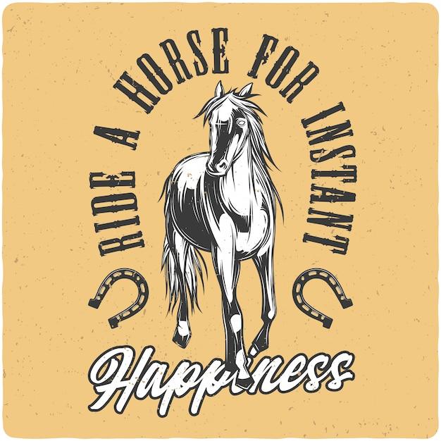 Koń Premium Wektorów