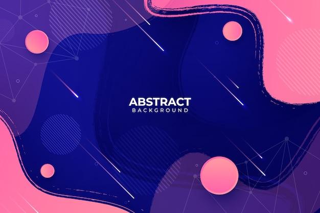 Koncepcja Abstrakcyjna Tła Darmowych Wektorów