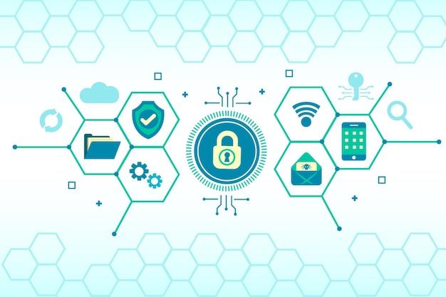 Koncepcja Bezpieczeństwa Cybernetycznego Z Elementami Technologii Darmowych Wektorów
