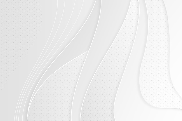 Koncepcja Białe Tło Abstrakcyjne Darmowych Wektorów