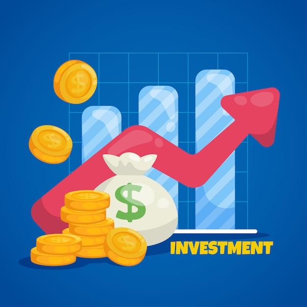 Koncepcja biznesu i rynku Premium Wektorów