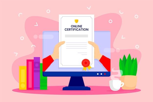Koncepcja Certyfikacji Online Darmowych Wektorów