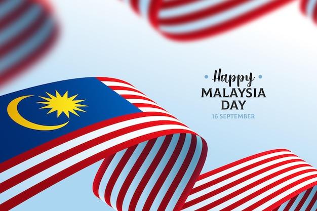 Koncepcja Dnia Malezji Darmowych Wektorów