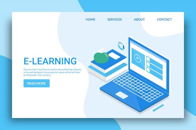 Koncepcja E-learningu Premium Wektorów