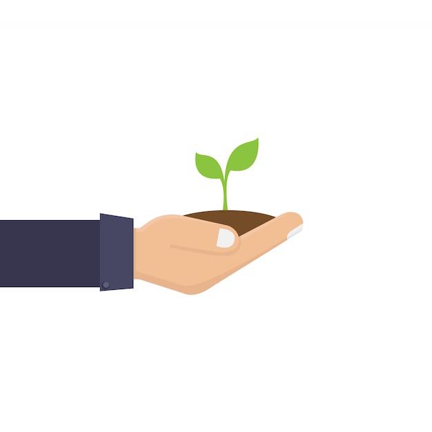 Koncepcja ekologicznego środowiska Premium Wektorów