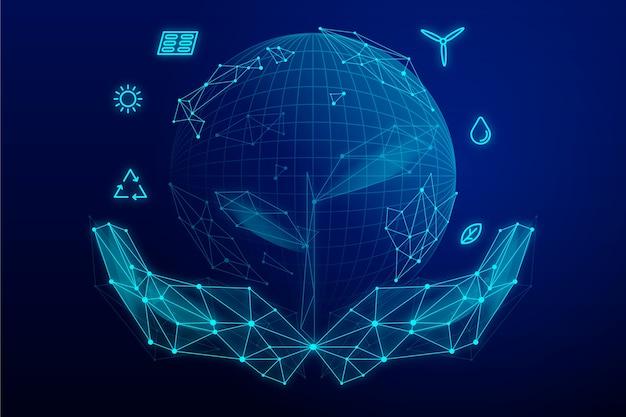 Koncepcja Ekologii Technologicznej Darmowych Wektorów