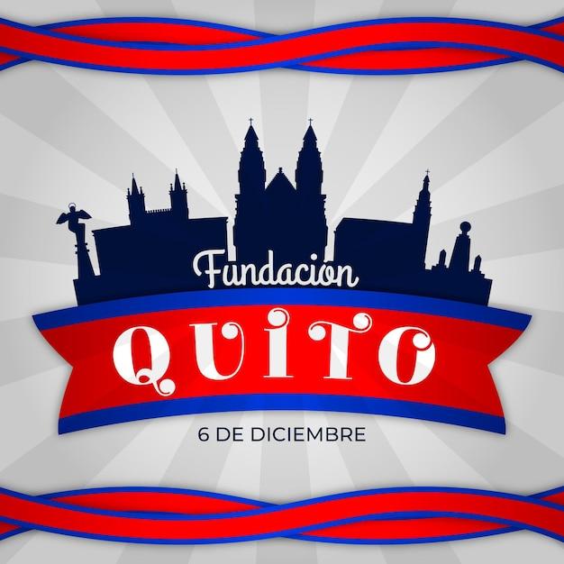 Koncepcja Fundacion De Quito Darmowych Wektorów