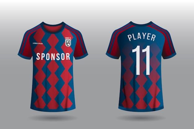 Koncepcja Koszulki Piłkarskiej Darmowych Wektorów