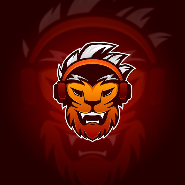 Koncepcja Logo Maskotka Darmowych Wektorów