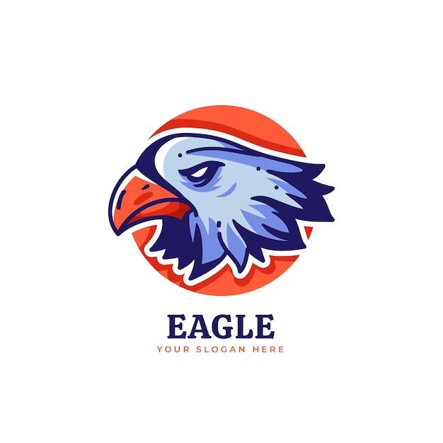 Koncepcja Logo Maskotka Premium Wektorów