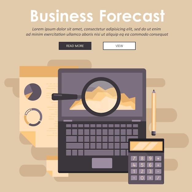 Koncepcja Prognozy Biznesowej Premium Wektorów