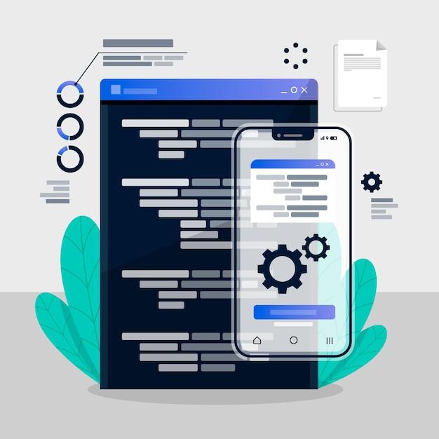 Koncepcja Rozwoju Aplikacji Premium Wektorów