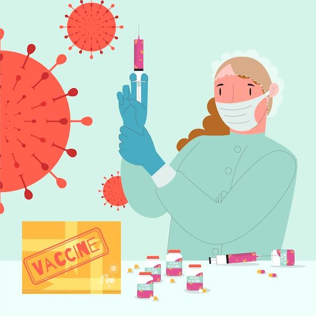 Koncepcja Rozwoju Szczepionki Darmowych Wektorów